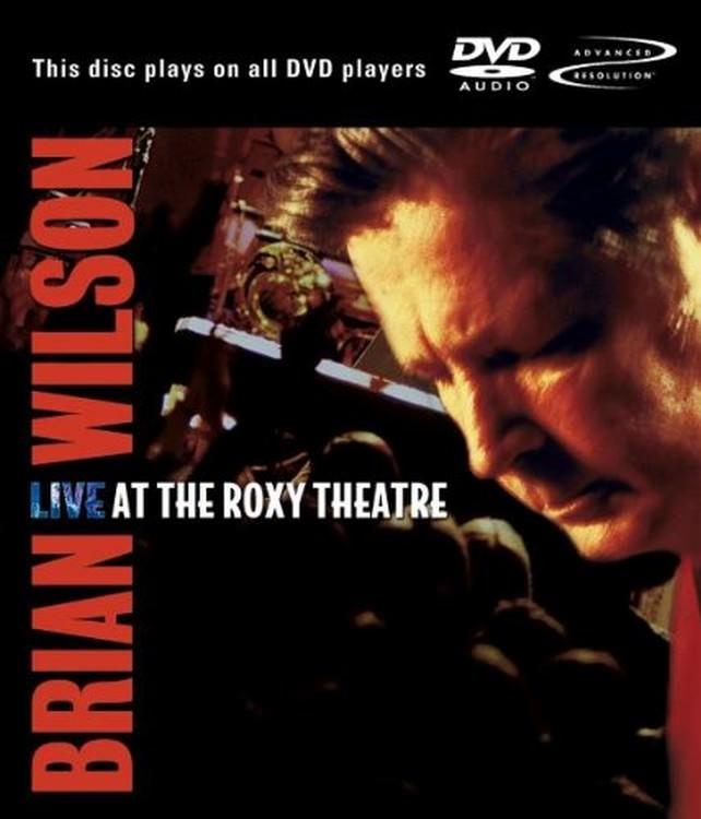 Live at the Roxy Theatre DVD Audio cover