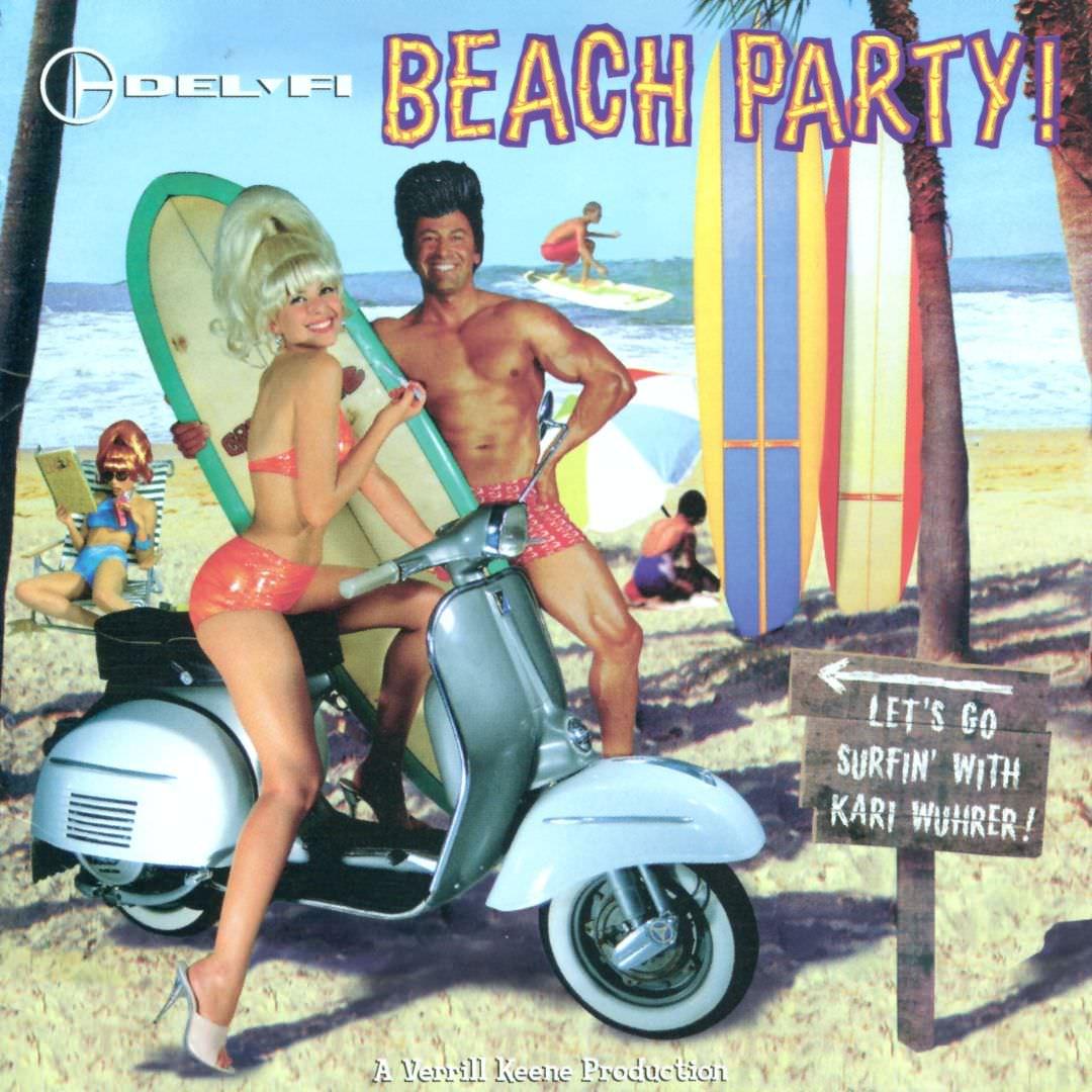 Del-Fi Beach Party! cover