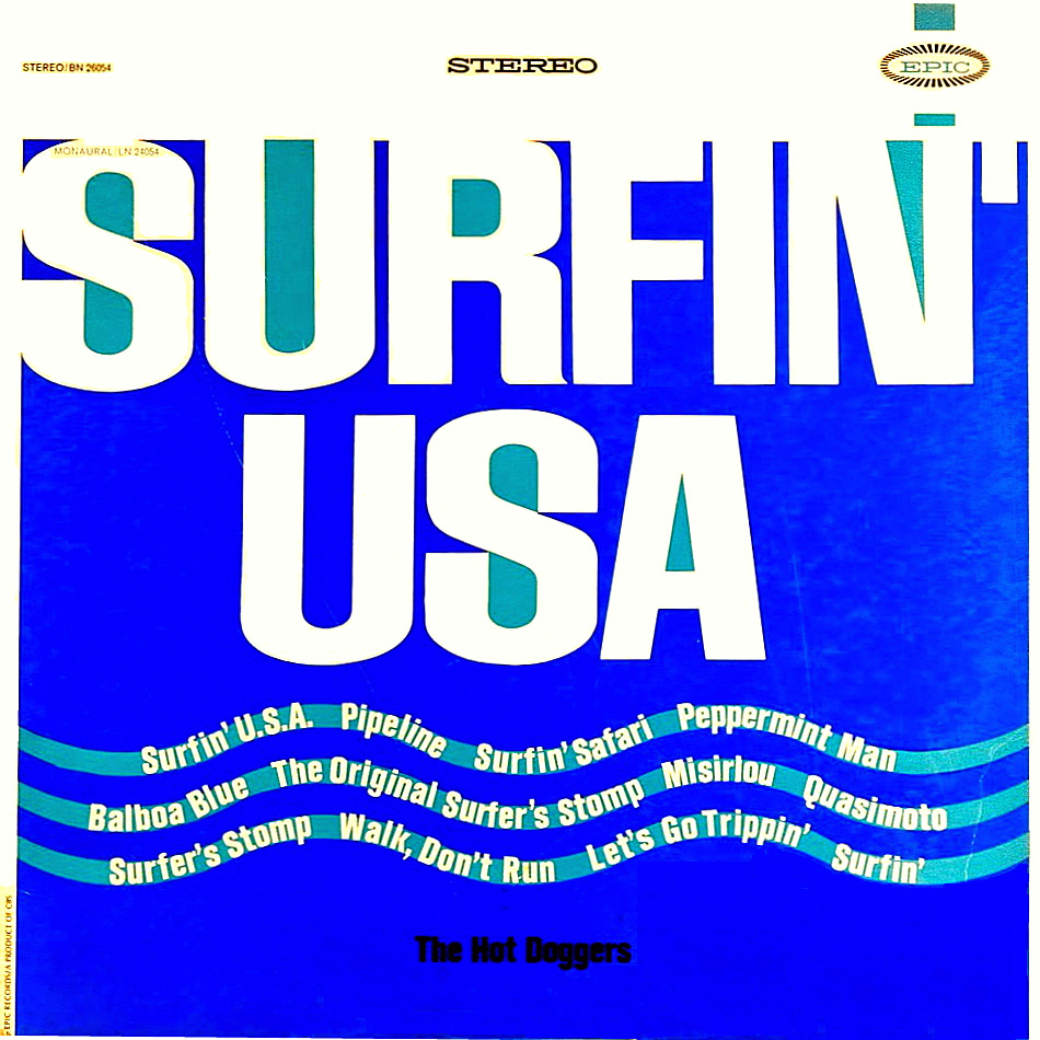 Surfin' USA cover