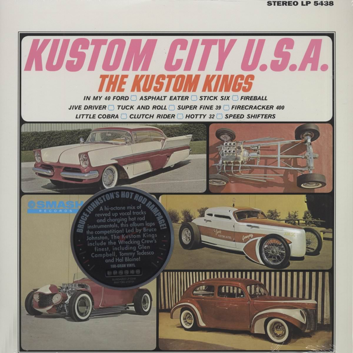 The Kustom Kings: Kustom City U.S.A. cover