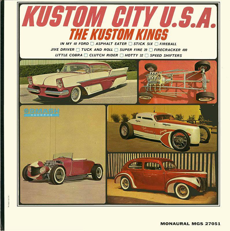 Kustom City U.S.A. cover