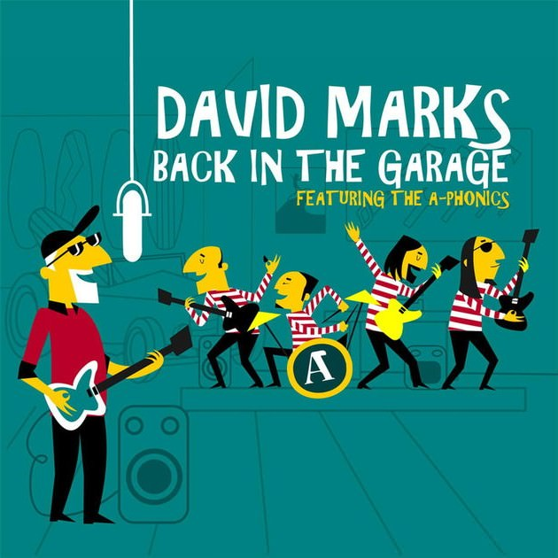 Back In The Garage cover