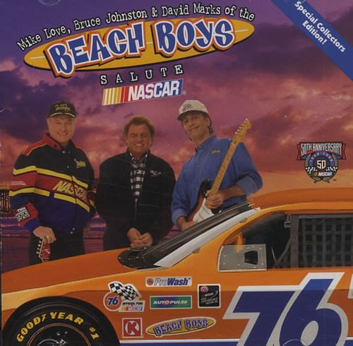 Mike Love, Bruce Johnston and David Marks of the Beach Boys Salute Nascar cover
