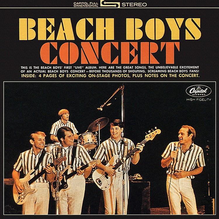 Beach Boys Concert / Live In London cover