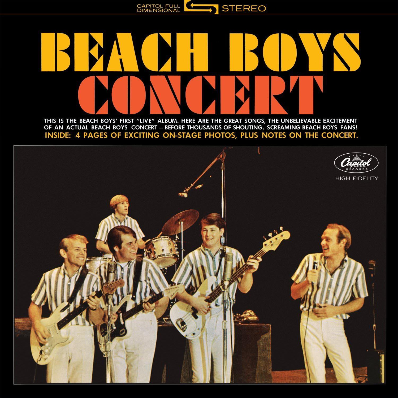 Beach Boys Concert [LP] cover