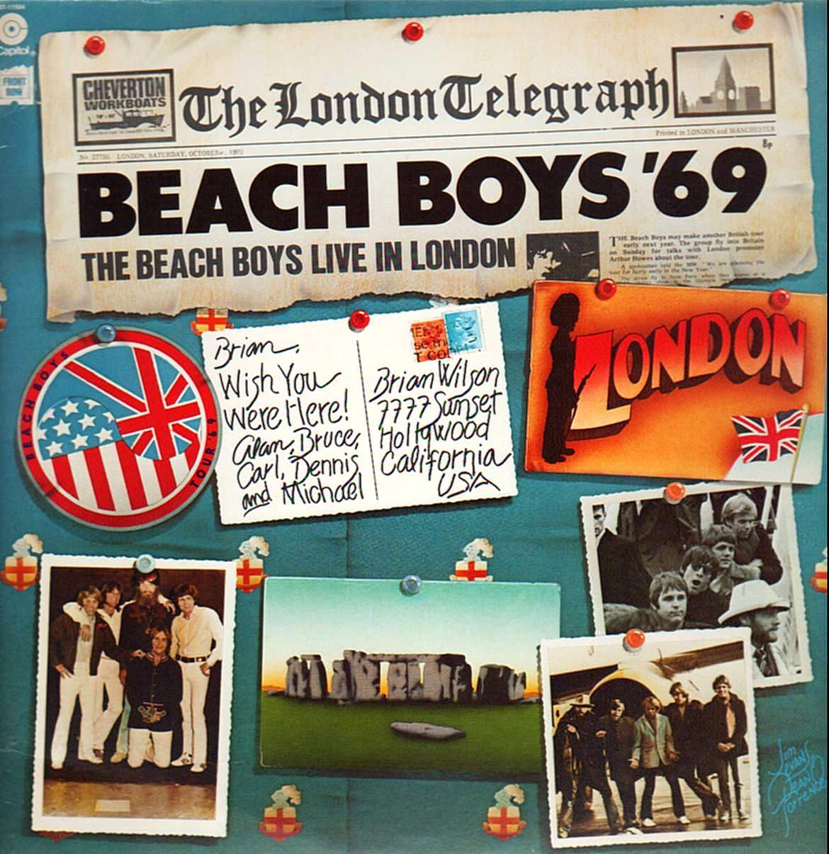 Beach Boys '69 cover