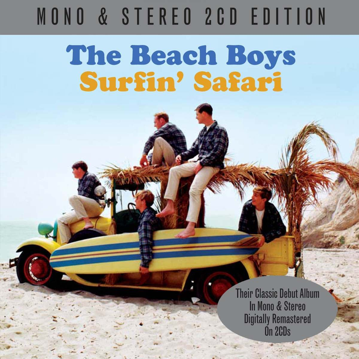 Surfin' Safari Mono-Stereo cover