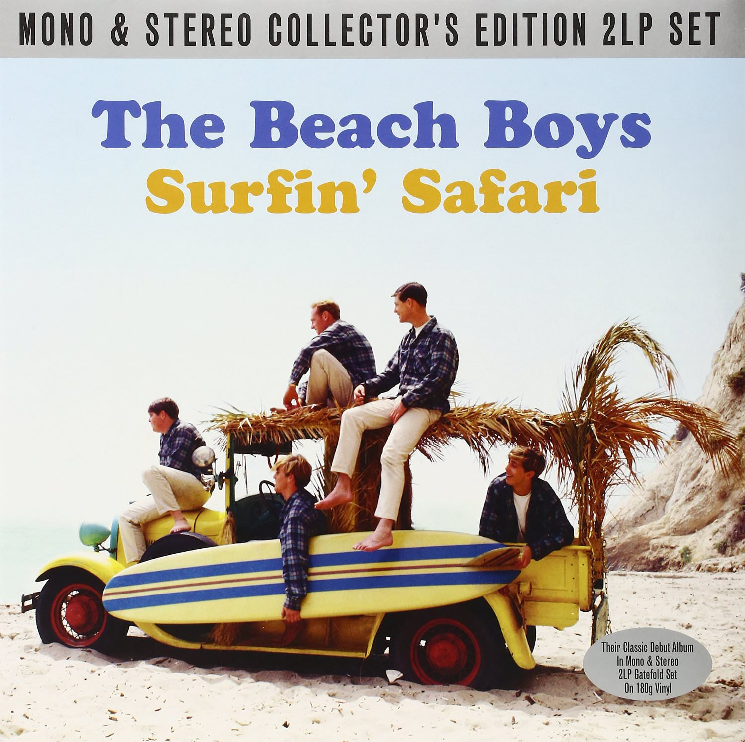 Surfin' Safari Mono / Stereo (2LP Gatefold 180g Vinyl) cover