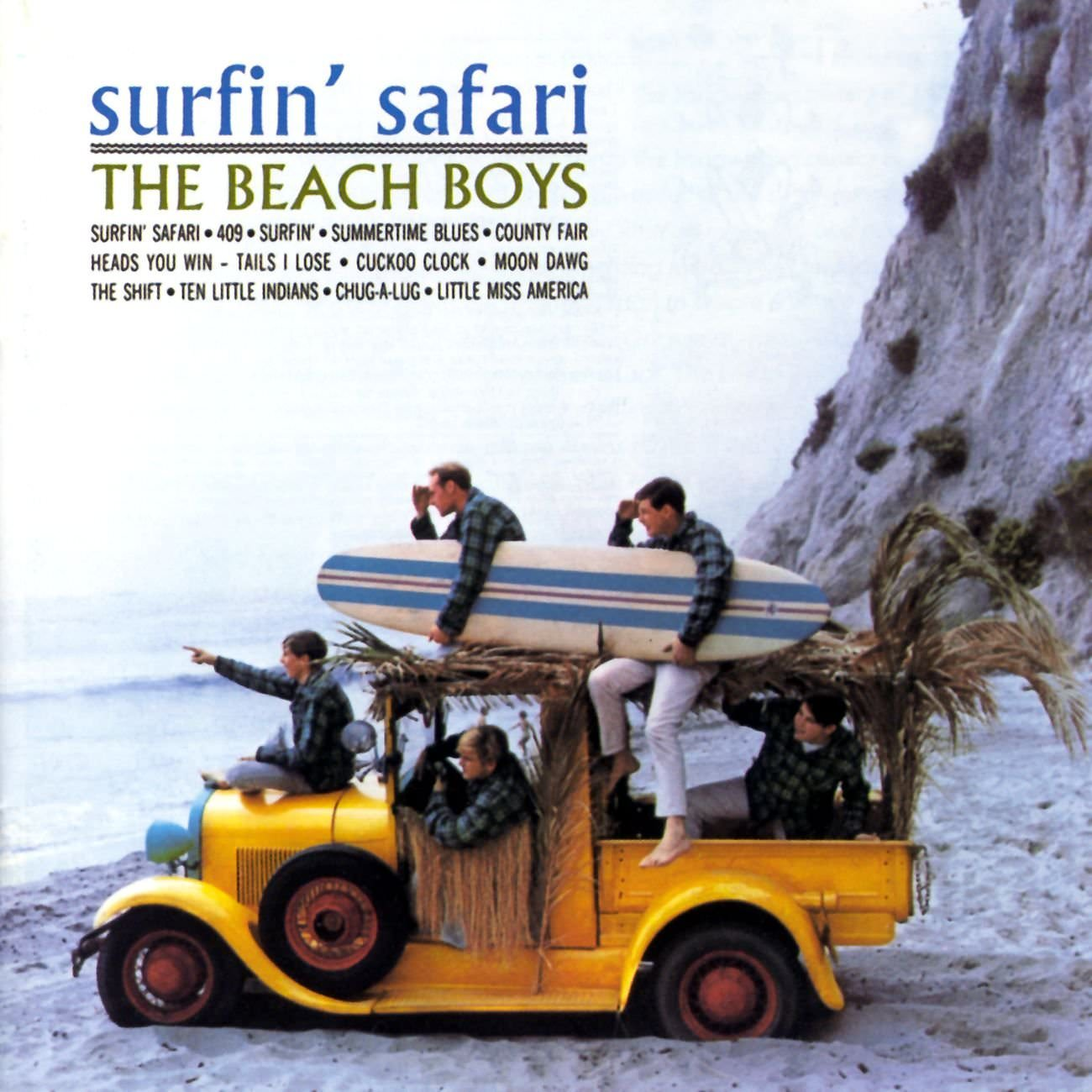 Surfin' Safari cover