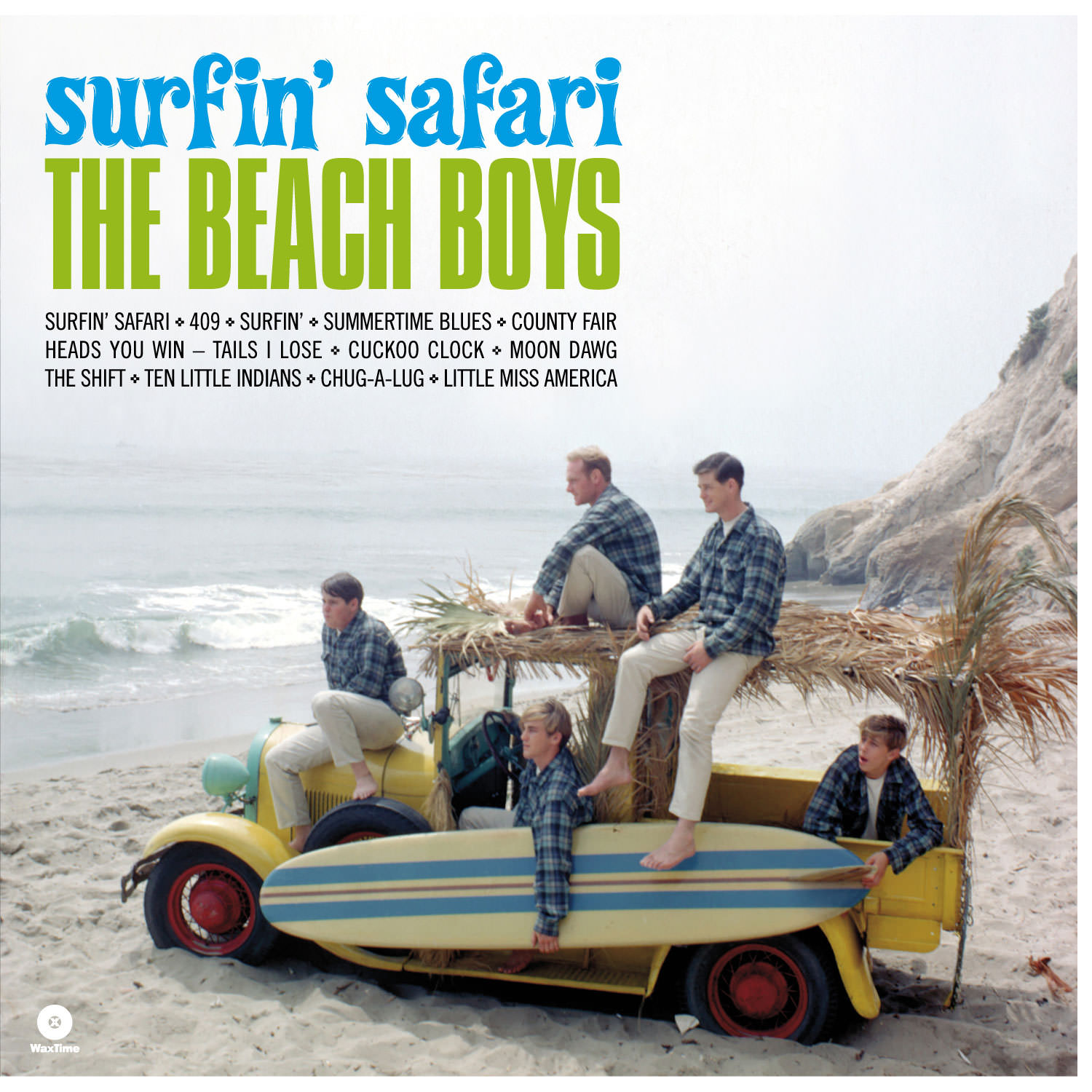 Surfin' Safari - The Definitive Remastered Edition (Mono/Stereo) cover