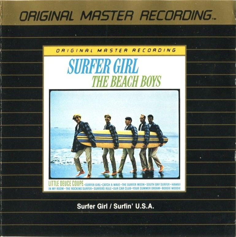 Surfer Girl / Surfin' U.S.A. Gold CD cover