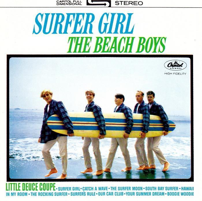 Surfer Girl / Shut Down, Vol. 2 cover