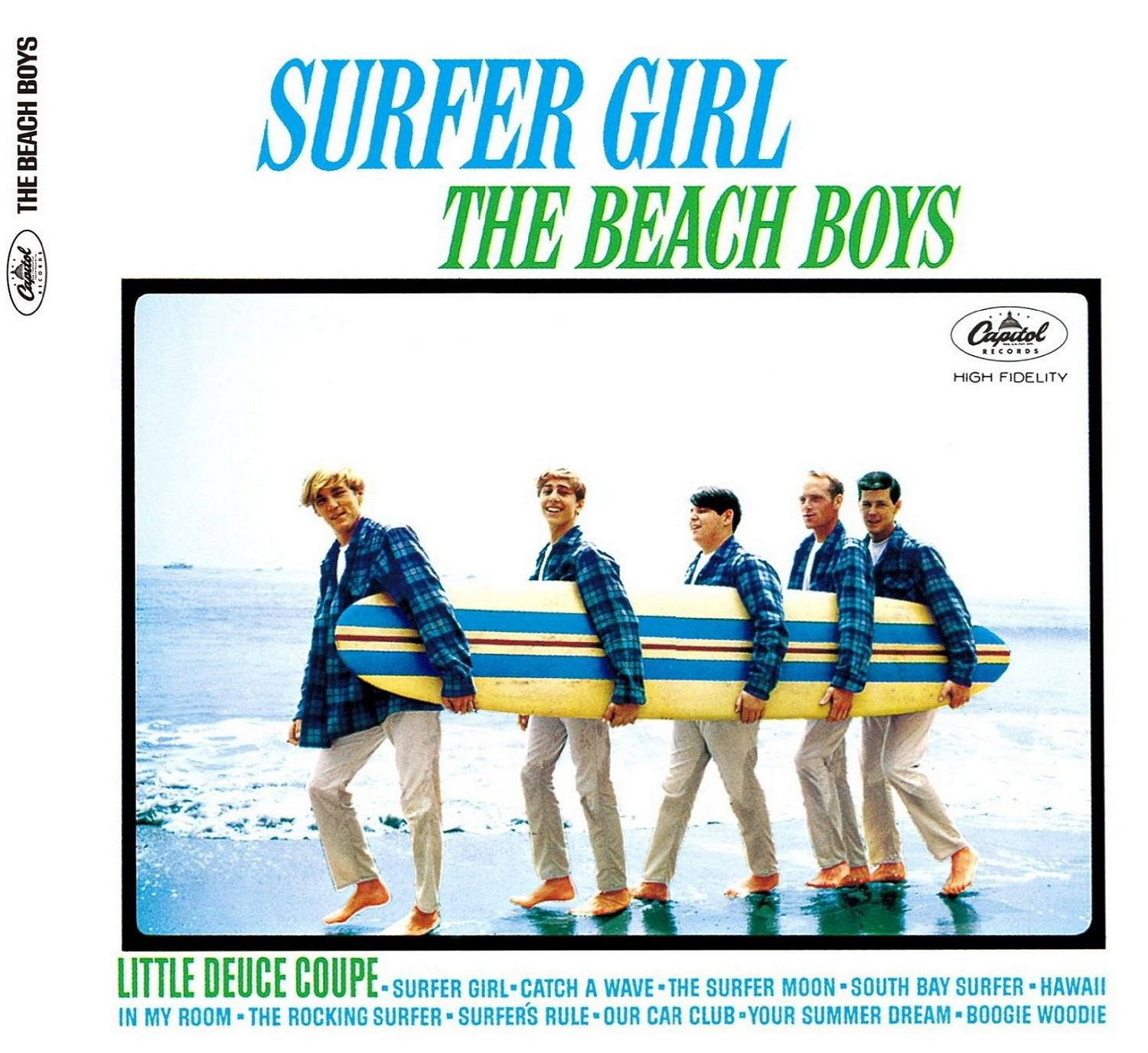 Surfer Girl (Mono & Stereo Remasters) cover