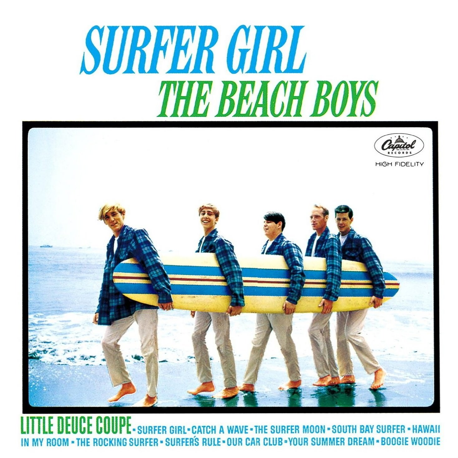 Surfer Girl cover