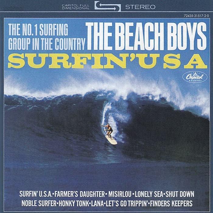 Surfin' Safari / Surfin' U.S.A. cover