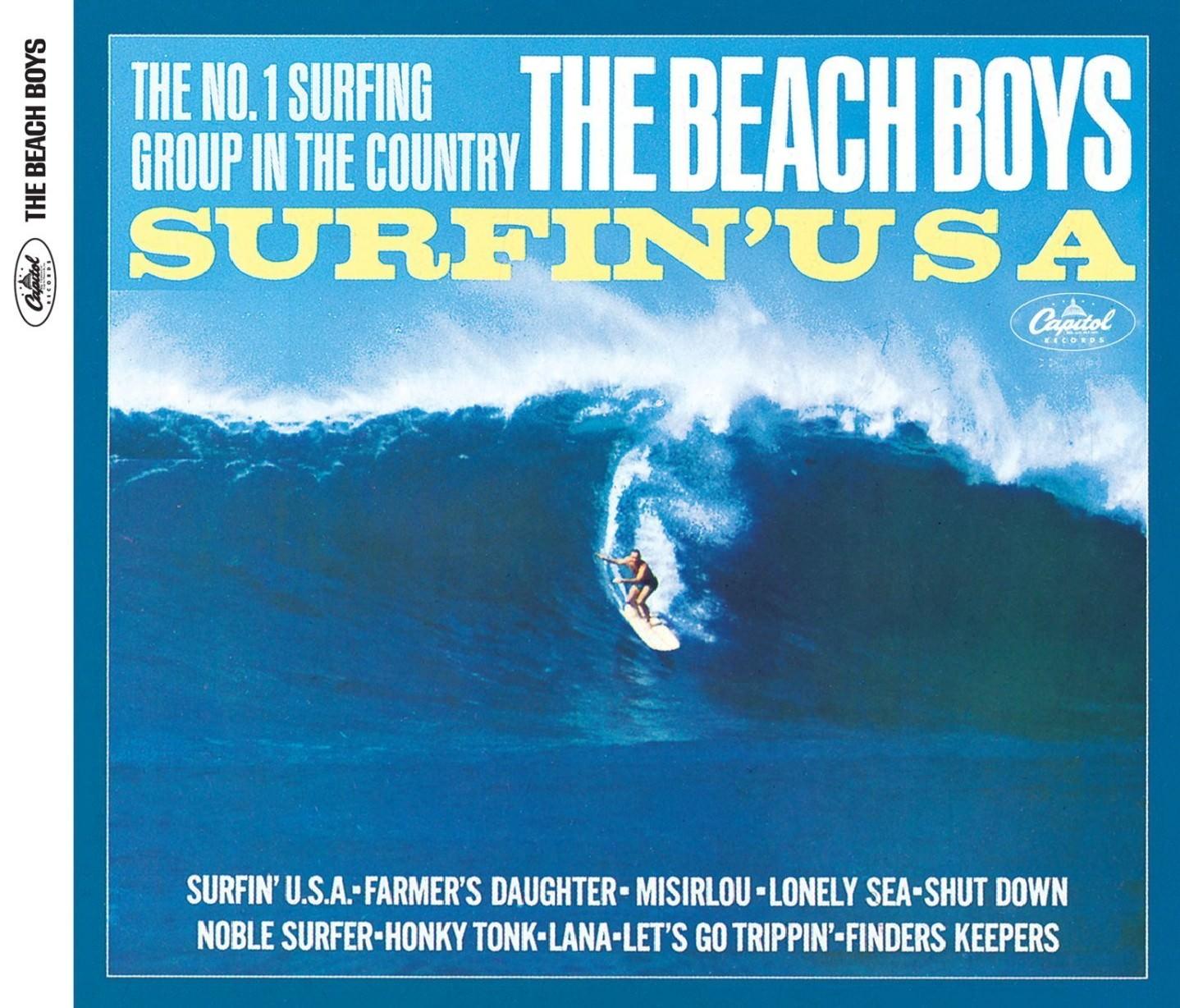 Surfin' U.S.A. (Mono & Stereo Remasters) cover