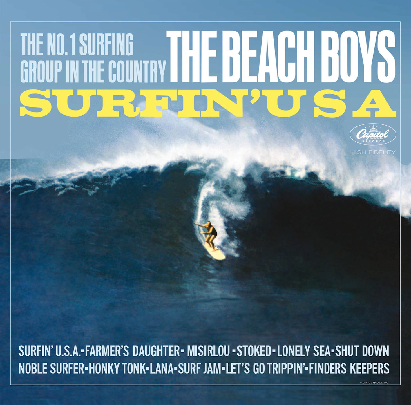 Surfin' U.S.A. cover
