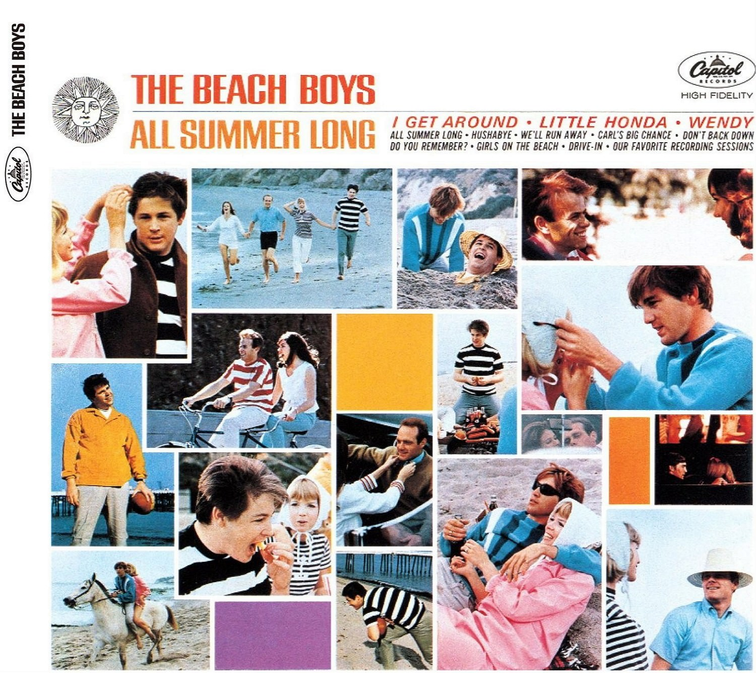 All Summer Long (Mono & Stereo Remasters) cover
