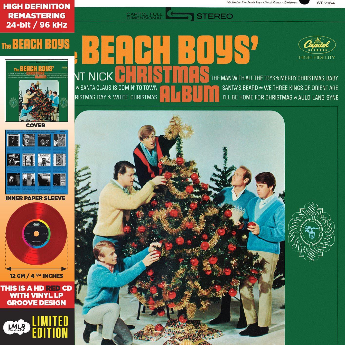 Christmas Album-Paper Sleeve-CD Deluxe Vinyl Replica cover
