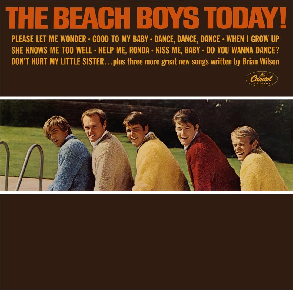 The Beach Boys Today! cover