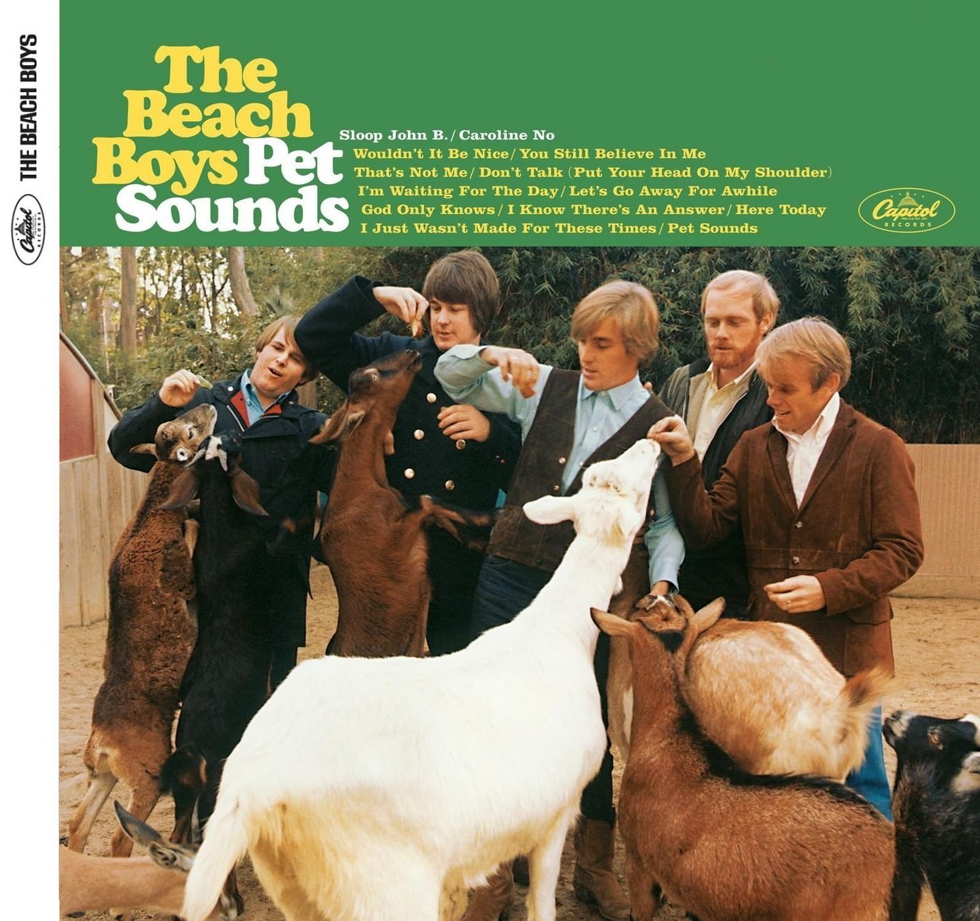 Pet Sounds (Mono & Stereo Remasters) cover
