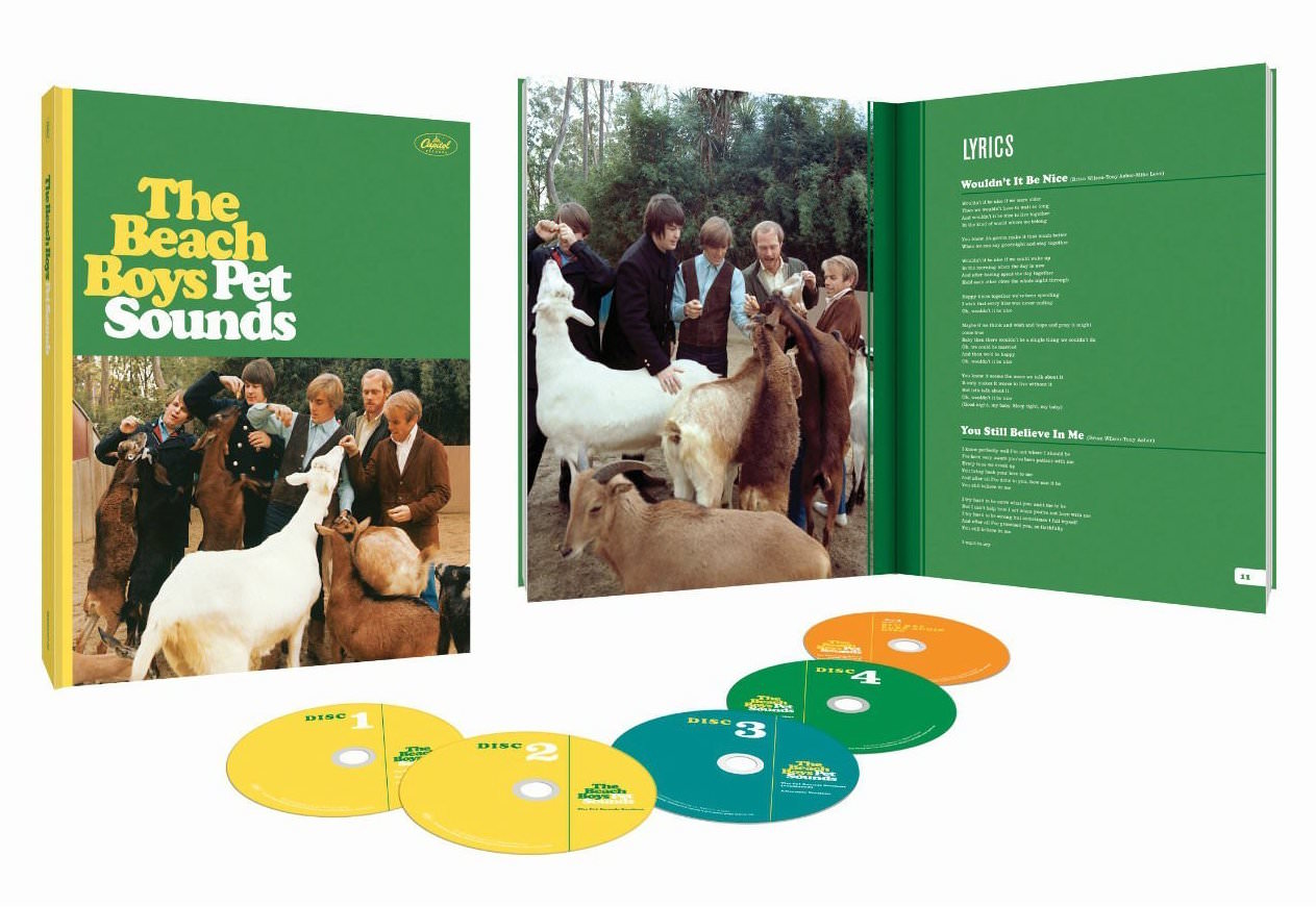 Pet Sounds (50th Anniversary Deluxe Edition) 4CD/Blu-ray Audio cover