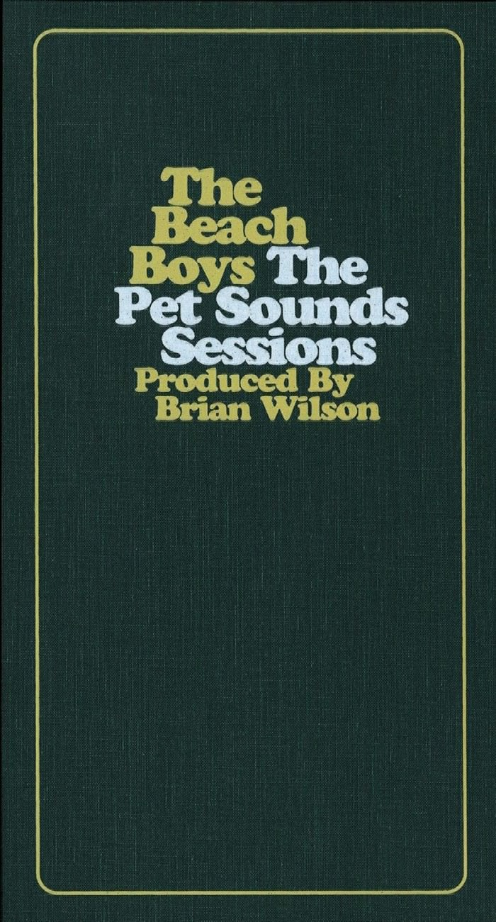 The Pet Sounds Sessions cover