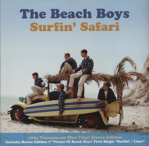 Surfin' Safari (180g Transparent Blue Vinyl Stereo Edition) cover