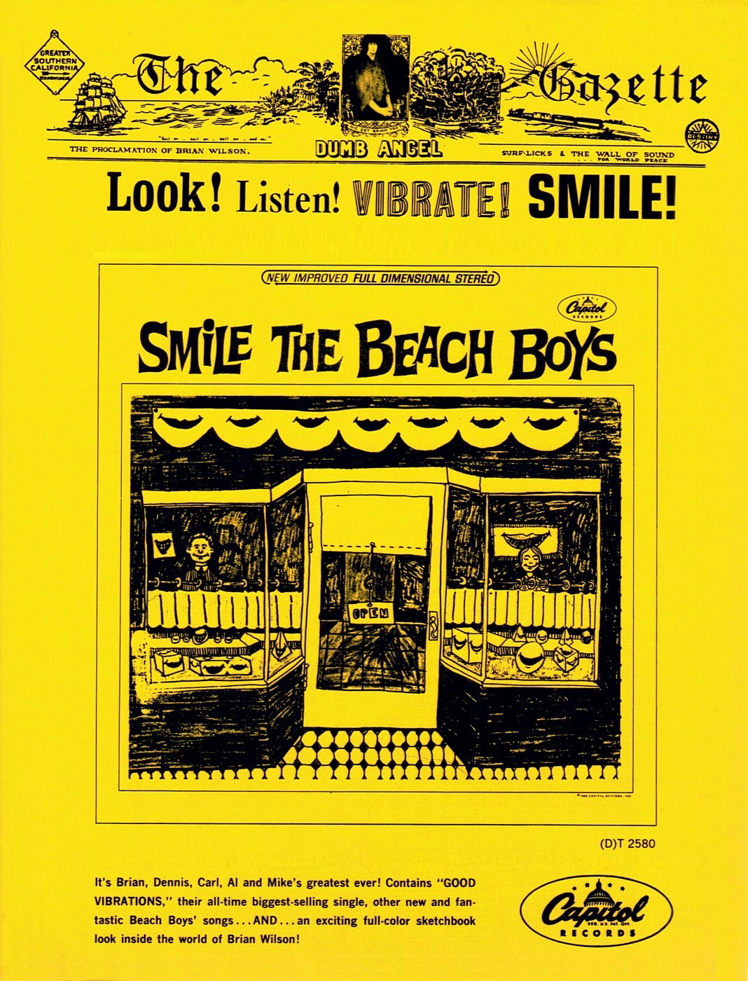 Look! Listen! Vibrate! Smile! cover