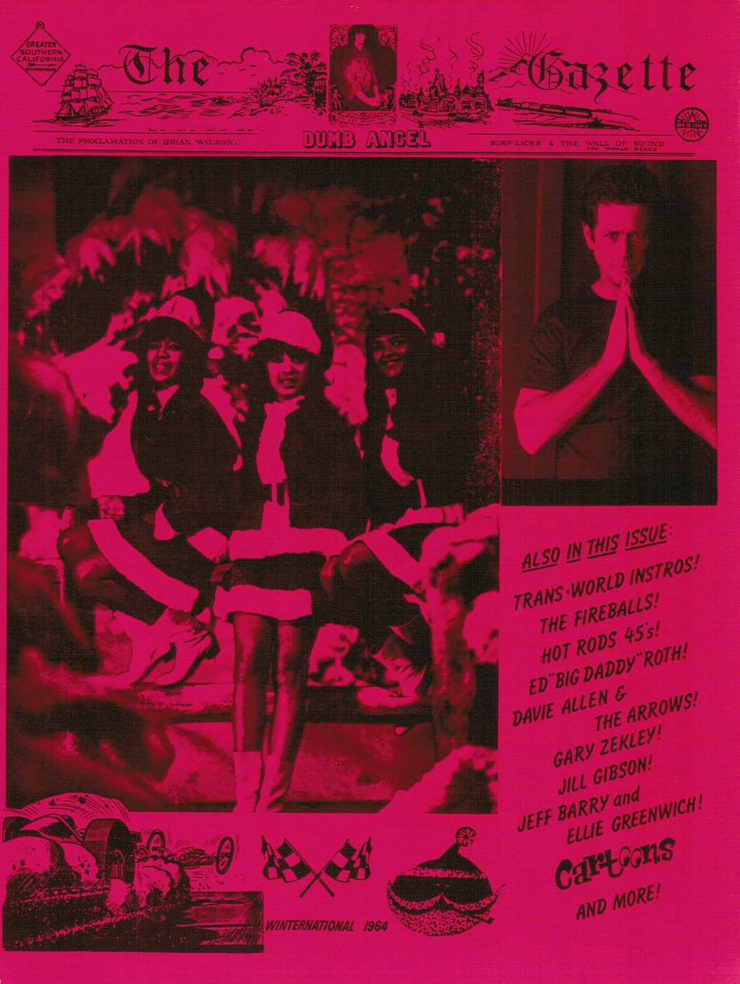 The Dumb Angel Gazette cover