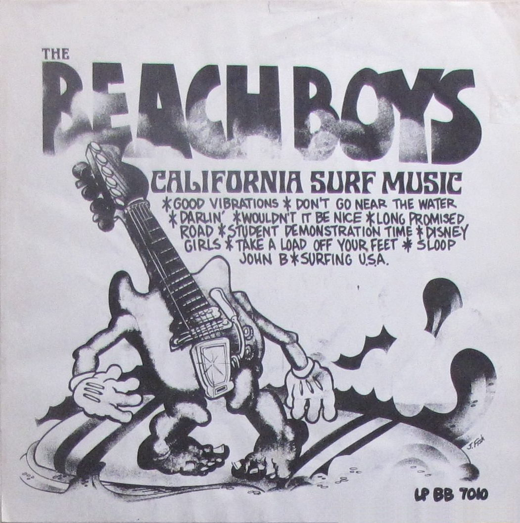 California Surf Music cover