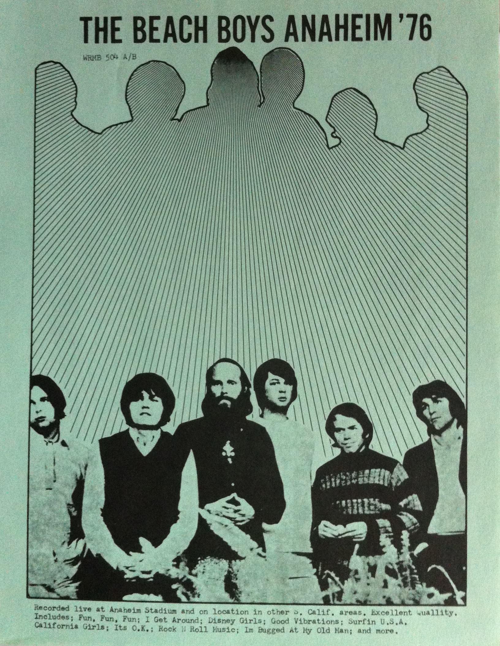 Anaheim '76 cover