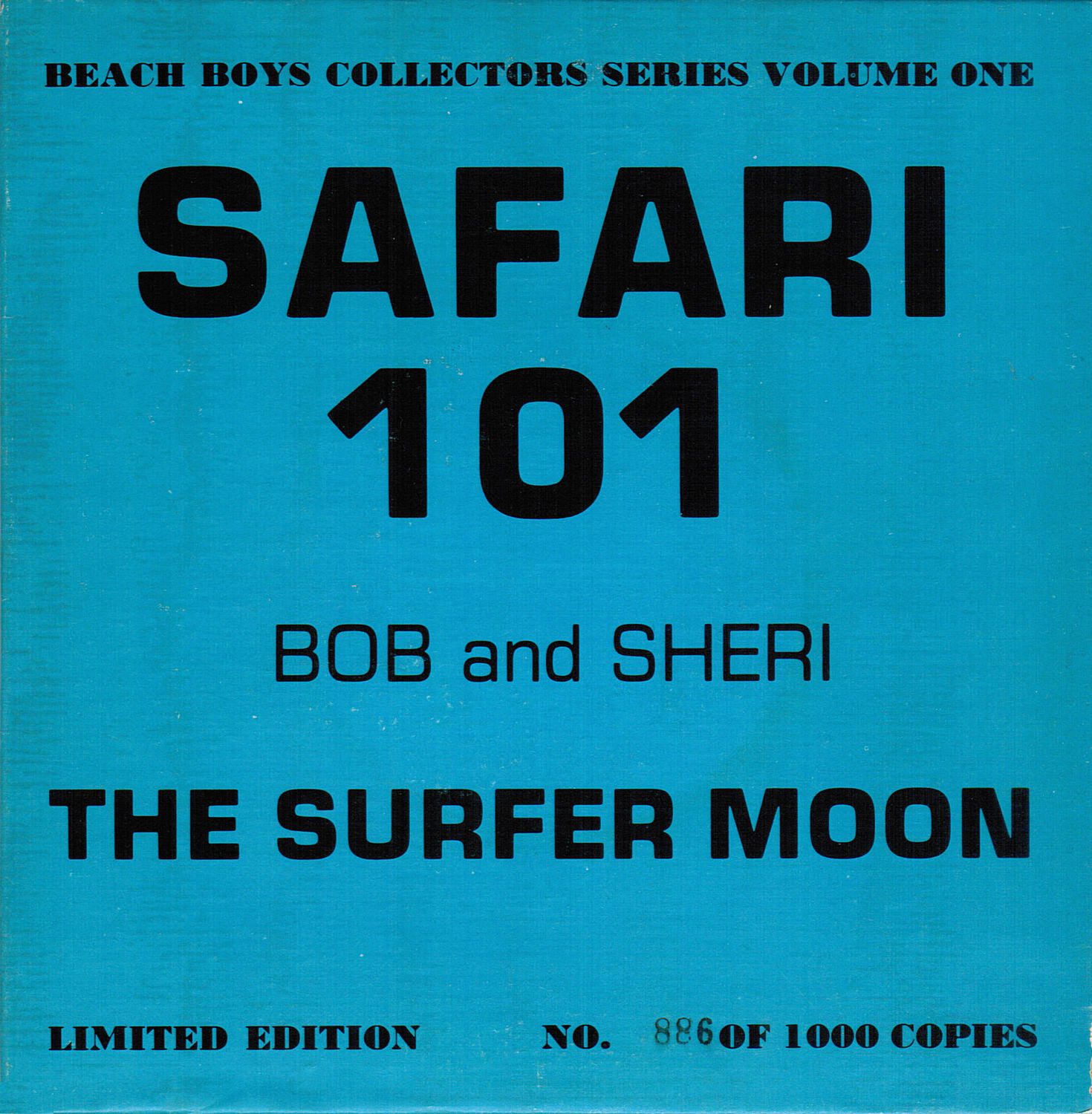 Bob And Sheri: The Surfer Moon cover