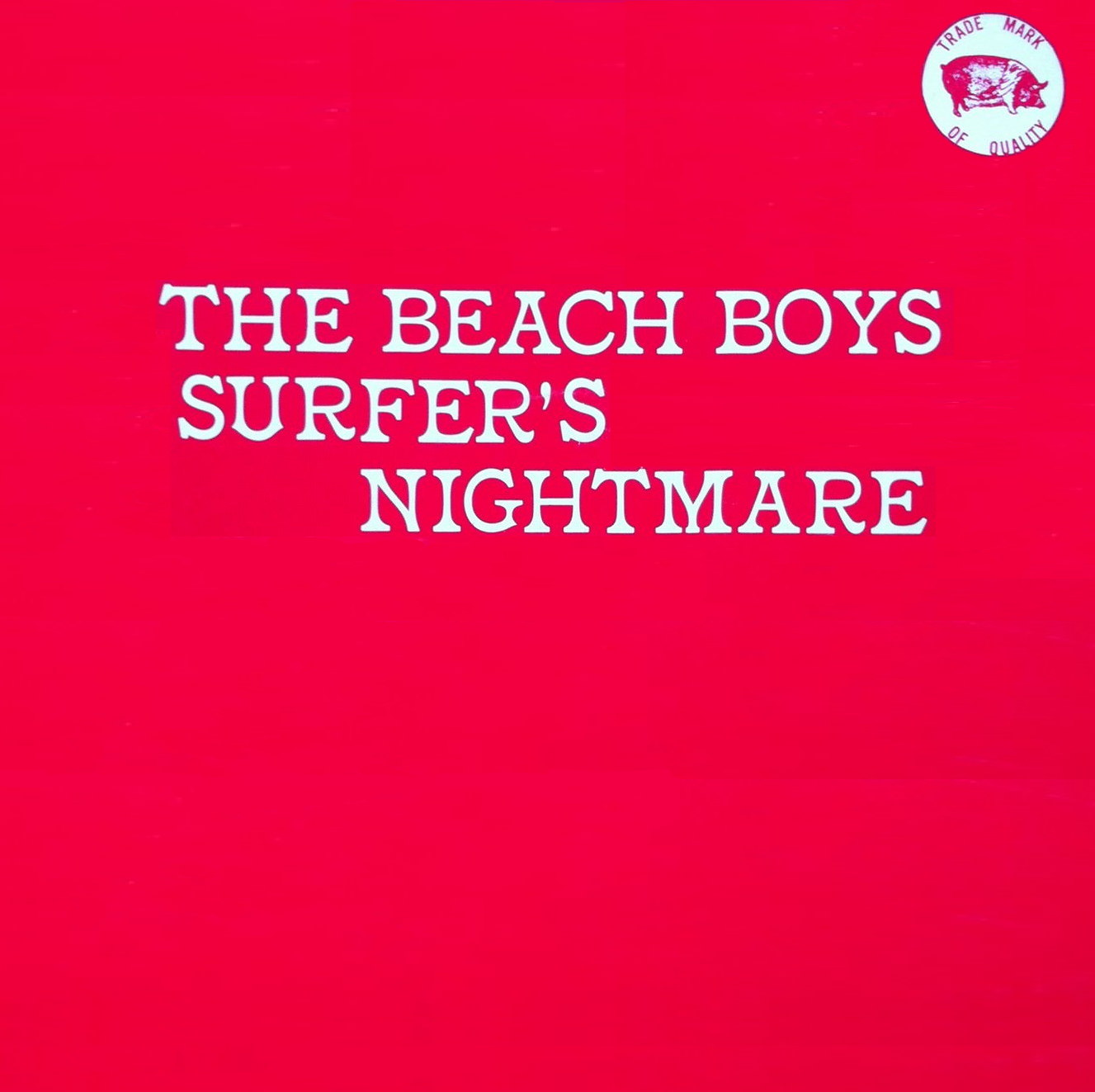 Surfer's Nightmare cover