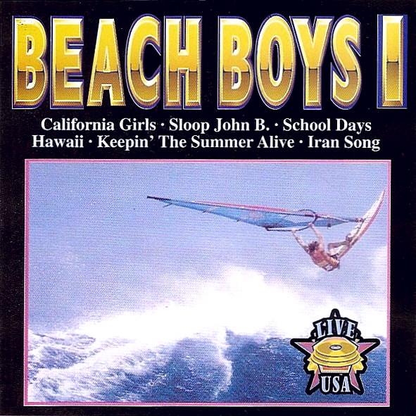 Beach Boys Vol. 1 Live USA cover