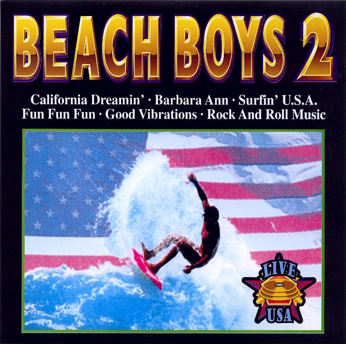 Beach Boys Vol. 2 Live USA cover