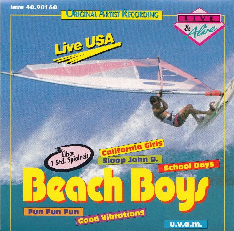 Live USA cover