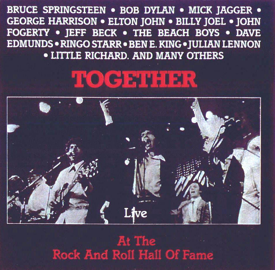 Together Live At The Rock And Roll Hall Of Fame cover