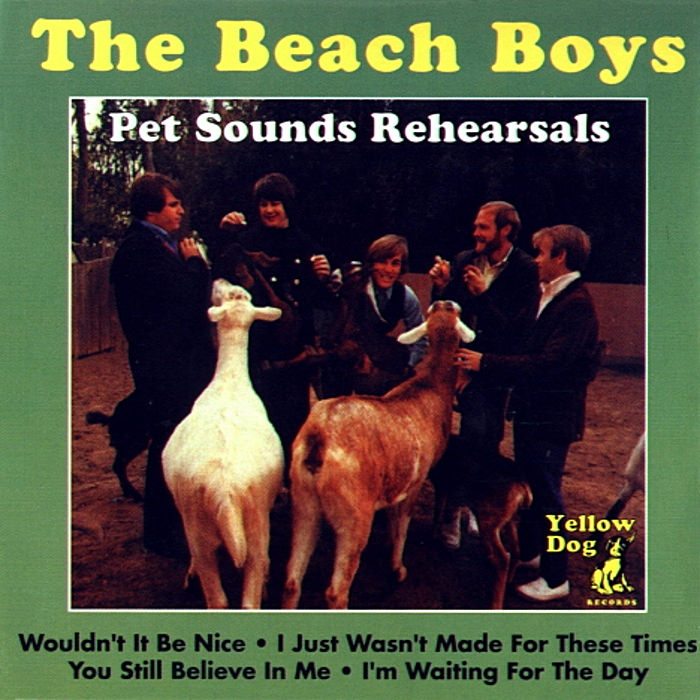 Pet Sounds Rehearsals cover