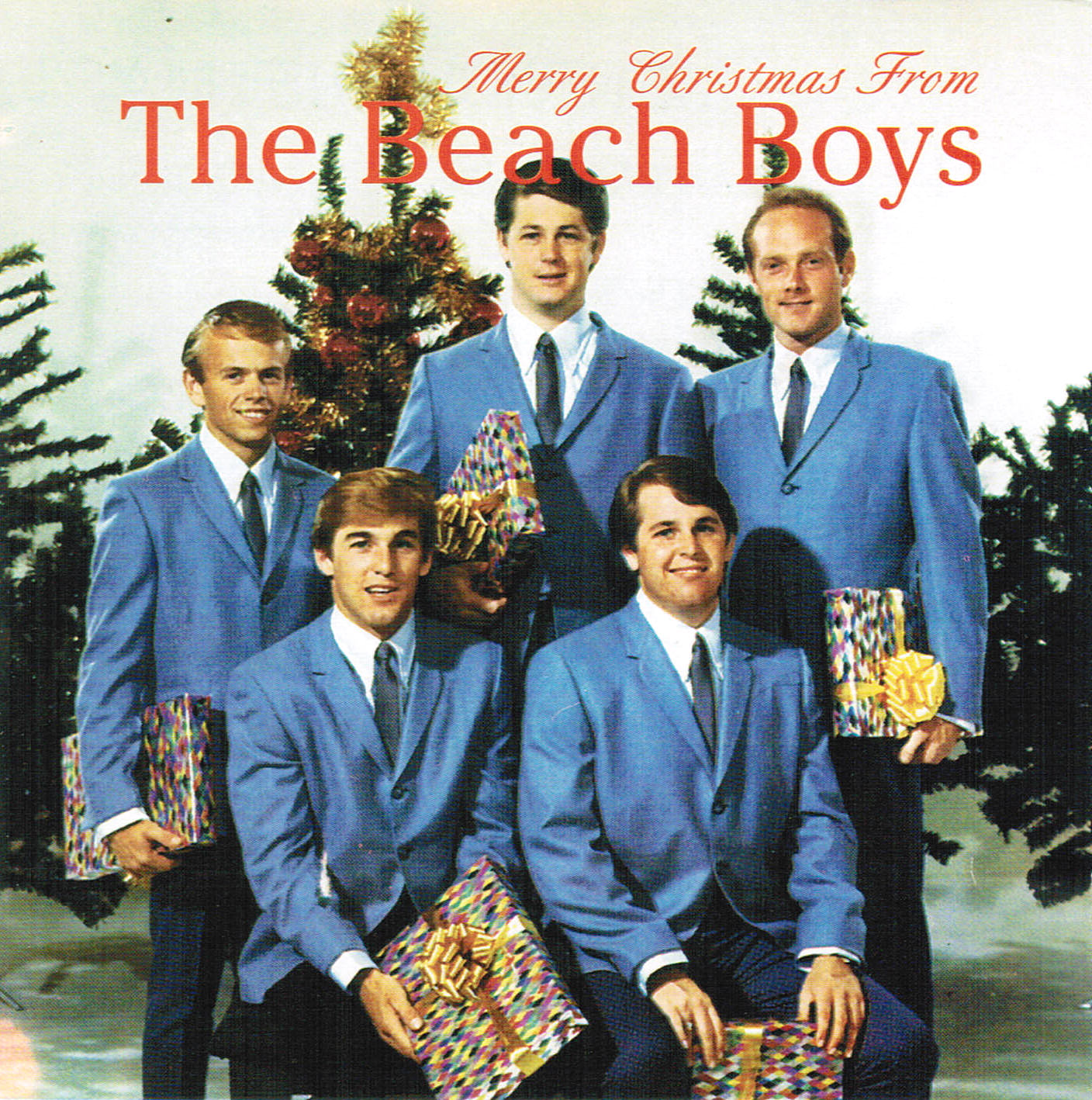 Merry Christmas From The Beach Boys cover
