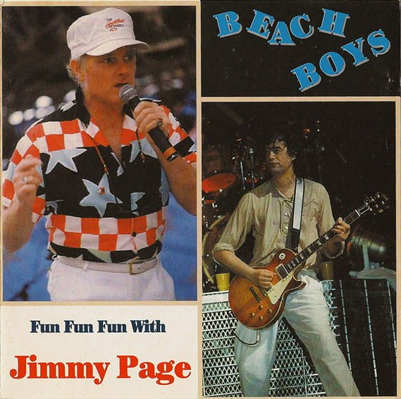 Fun Fun Fun With Jimmy Page cover