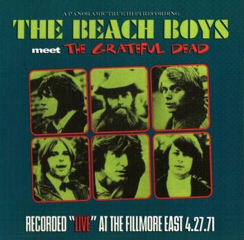 The Beach Boys Meet The Grateful Dead cover