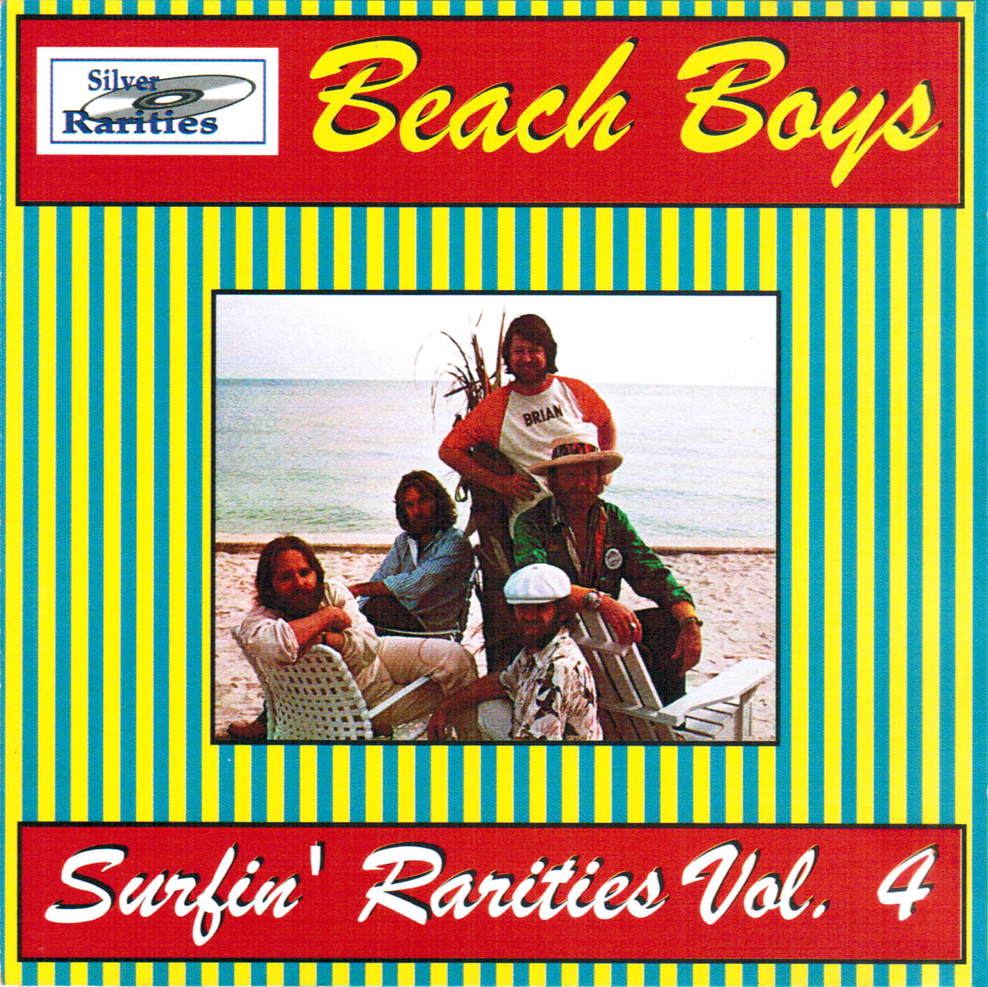 Surfin' Rarities Vol. 4 cover