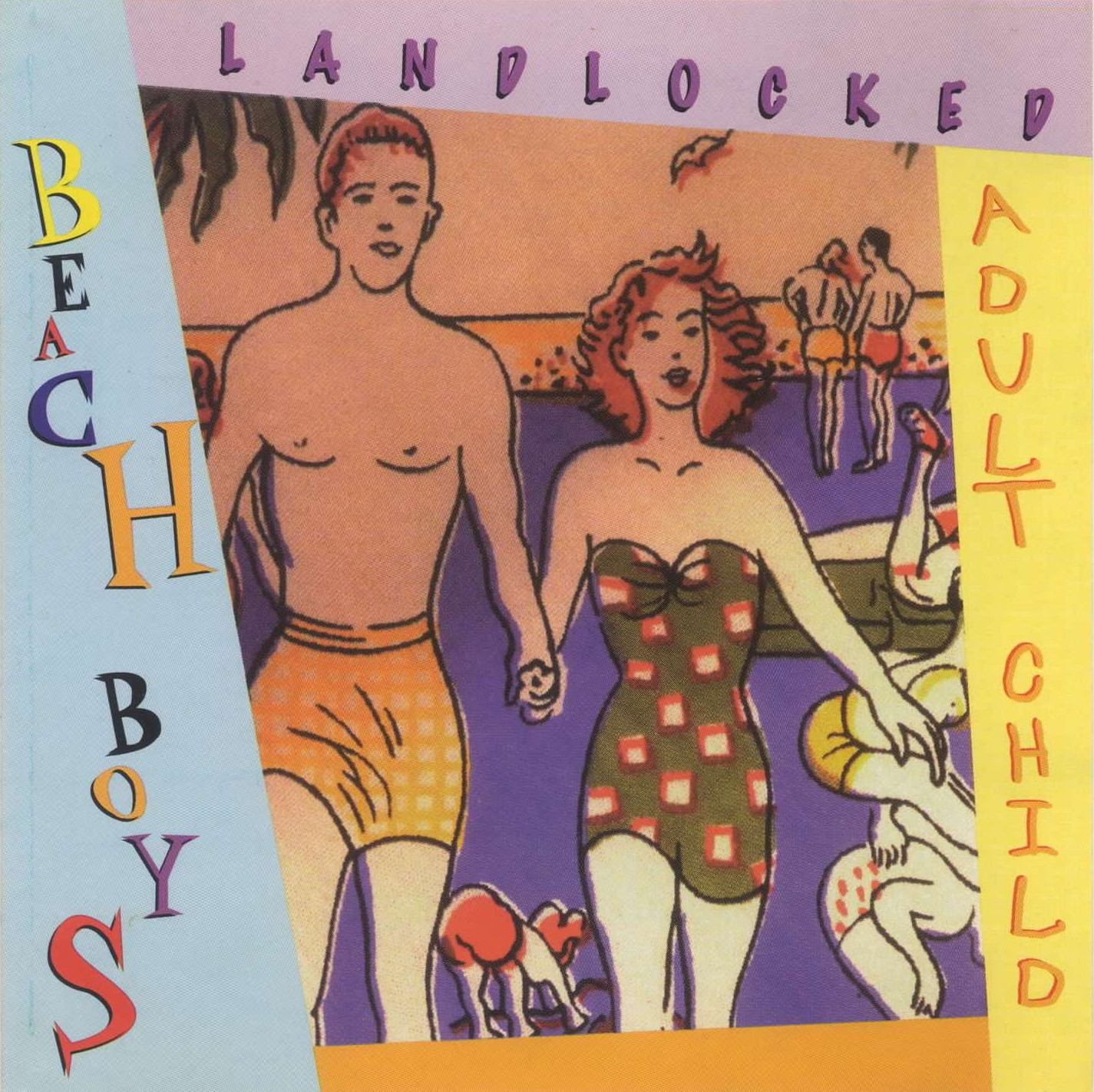 Landlocked / Adult Child cover