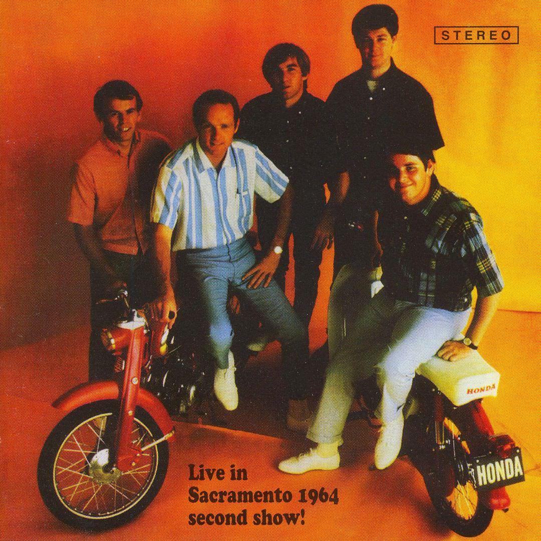 Live In Sacramento 1964, Second Show! cover