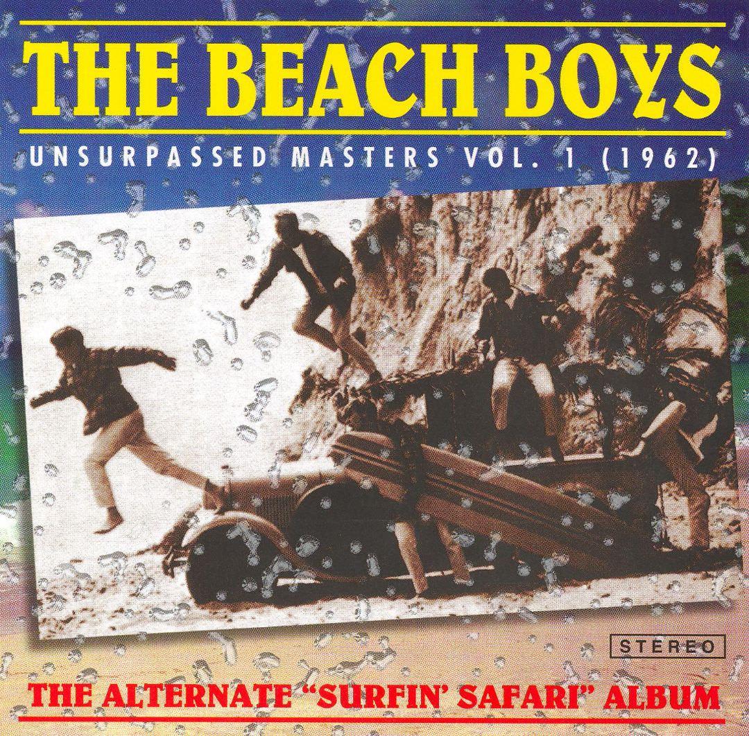 Unsurpassed Masters Vol. 1 (1962) cover