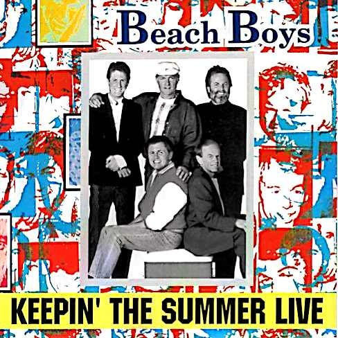 Keepin' The Summer Live cover