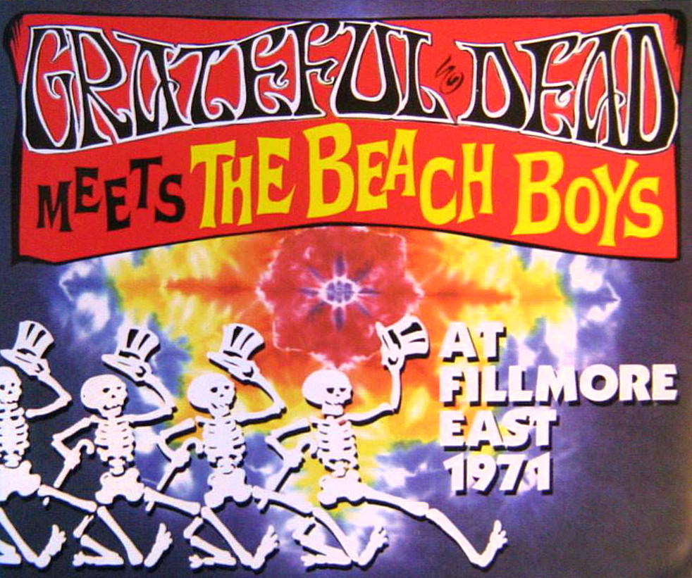 Grateful Dead Meets The Beach Boys cover