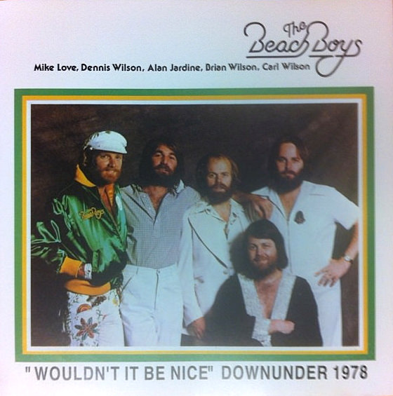 'Wouldn't It Be Nice' Downunder 1978 cover