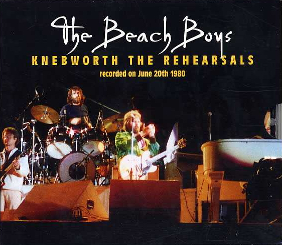 Knebworth The Rehearsals cover